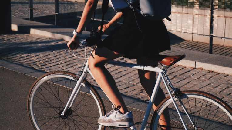 Abnehmen beim Gehen oder Radfahren